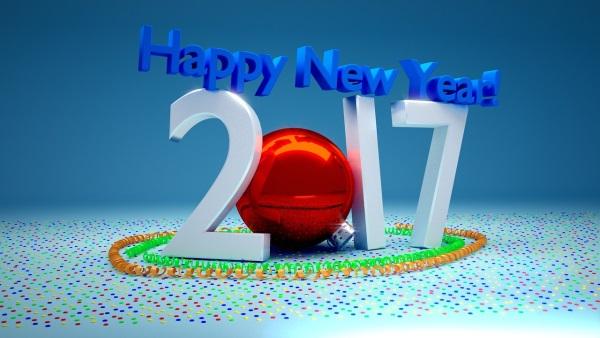 Gesundes neues Jahr 2017