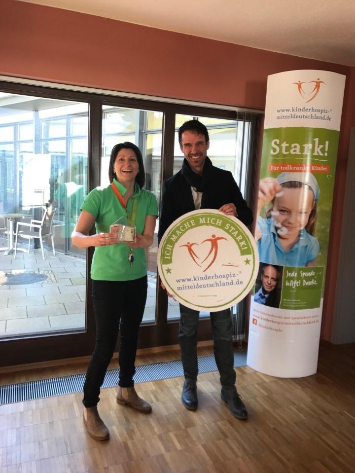 Spende an das Kinderhospiz Tambach-Dietharz